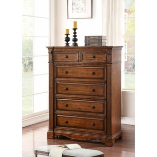 Fleur De Lis Living Carrow 6 Drawer Chest