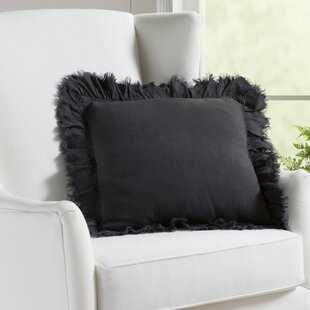 Gordonia Fringed Linen Pillow