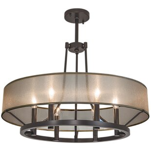 Charlton Home Chris 6 Light Candle-Style Chandelier