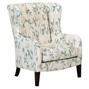 Marilyn Wingback Chair by Klaussner Furniture