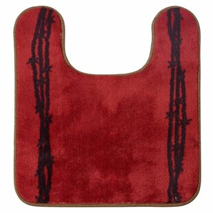 Richmond U Shaped Barbwire Contour Bath Rug