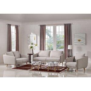 Edgewood Upholstered Sofa Set