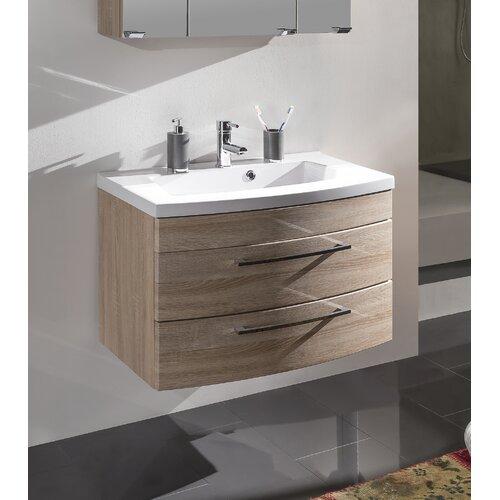 Rima 82cm Wall Mounted Under Sink Storage Unit Belfry Bathroom Vanity Base