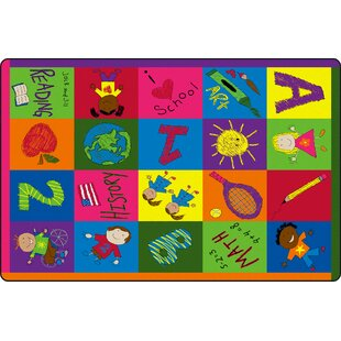 Best Reviews Primary Pictures Kids Rug ByFlagship Carpets