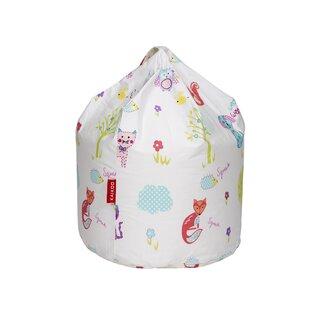 Creature Print Bean Bag Chair By Zoomie Kids