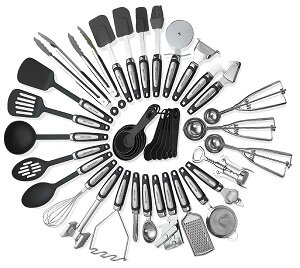 39 Piece Kitchen Utensils Set By Kitch N' Wares