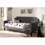 Gangulf Fabric Upholstered Twin Daybed by Winston Porter
