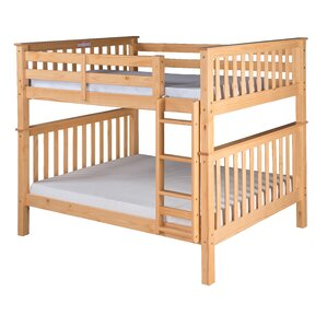 Santa Fe Mission Bunk Bed by Camaflexi