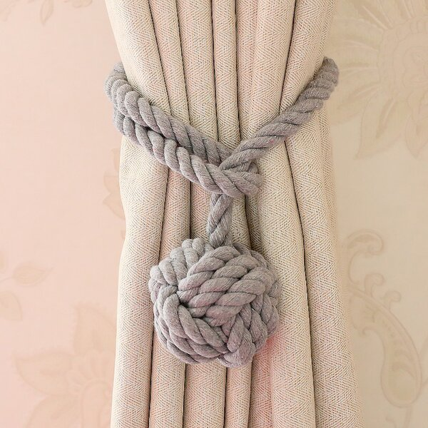 Curtain Tie Backs Rope Wayfair
