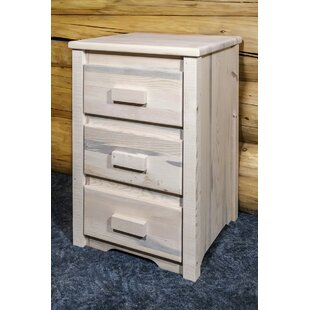 Abella 3 Drawer Nightstand