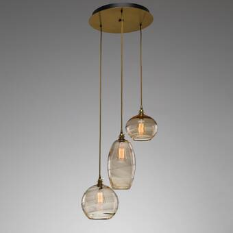 Hudson Valley Lighting Rousseau 3 Light Cluster Globe Pendant Perigold
