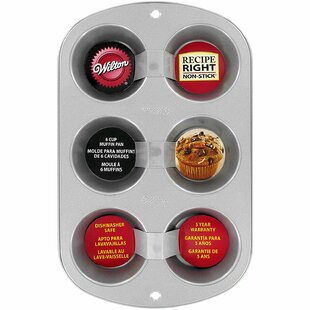 6 Cup Non-Stick Rectangle Muffin Pan