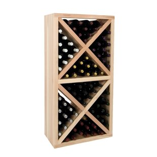 Vintner Series 78 Bottle Floor Wine Rack ..