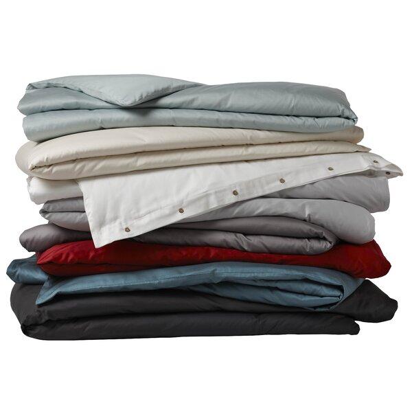 Great Coyuchi Sateen Organic Cotton Duvet Cover U0026 Reviews | Wayfair