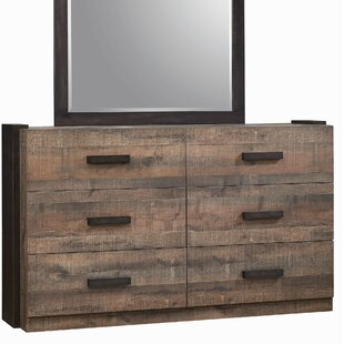 Steffan 6 Drawer Double Dresser