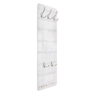 White Mediterranean Door Wall Mounted Coat Rack By Symple Stuff