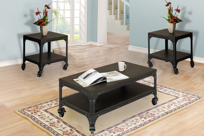 Williston Forge Burchette 3 Piece Coffee Table Set Wayfair