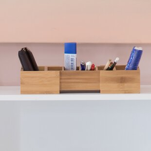 Jadyn Bamboo Drawer Desk Organiser By Natur Pur
