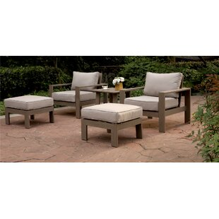 Otega 5 Piece 2 Person Seating Group with Cushion