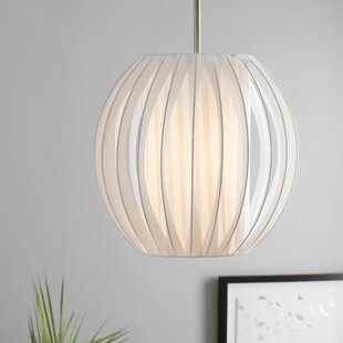 Melina 1-Light Pendant by Wade Logan