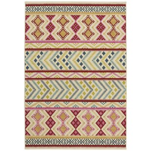 Pillar Blossom Pink Indoor/Outdoor Area Rug