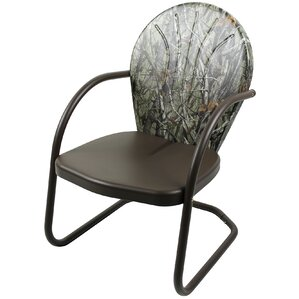 Camo Glider Arm Chair by Jack Post