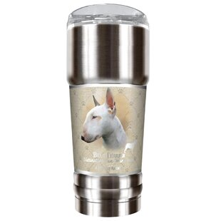 Howard Robinson's Bull Terrier 32 oz. Stainless Steel Travel Tumbler