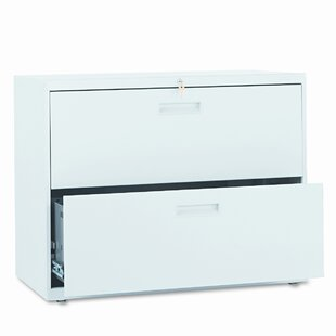 500 Series 36W 2-Drawer Lateral File