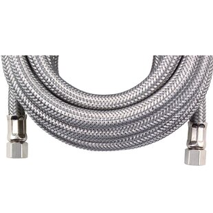 Certified Appliances 10' Braided Stainless Steel Ice Maker Hose