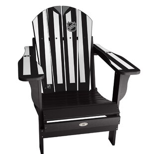 My Custom Sports Chair NHL Plastic Folding Adirondack Chair