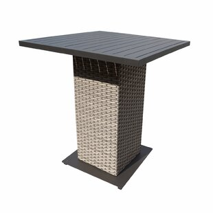 Florence Wicker Bar Table by TK Classics