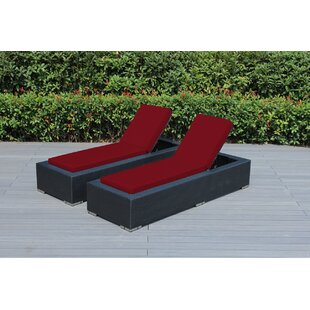 Wade Logan Baril Chaise Lounge (Set of 2)