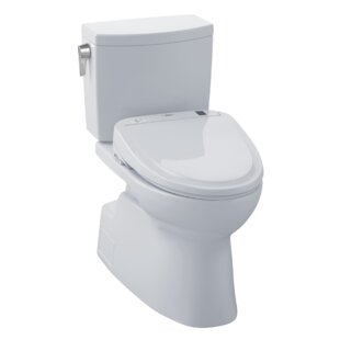 Toto Vespin® II 1.0 GPF Elongated Two-Piece Toilet