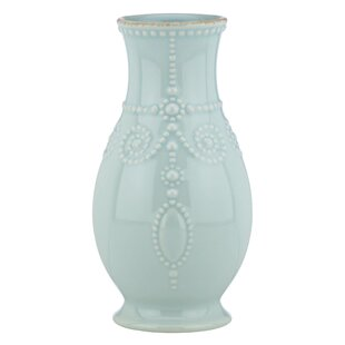 French Perle Fluted Table Vase