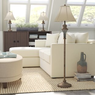 Groseiller 3 Piece Table and Floor Lamp Set