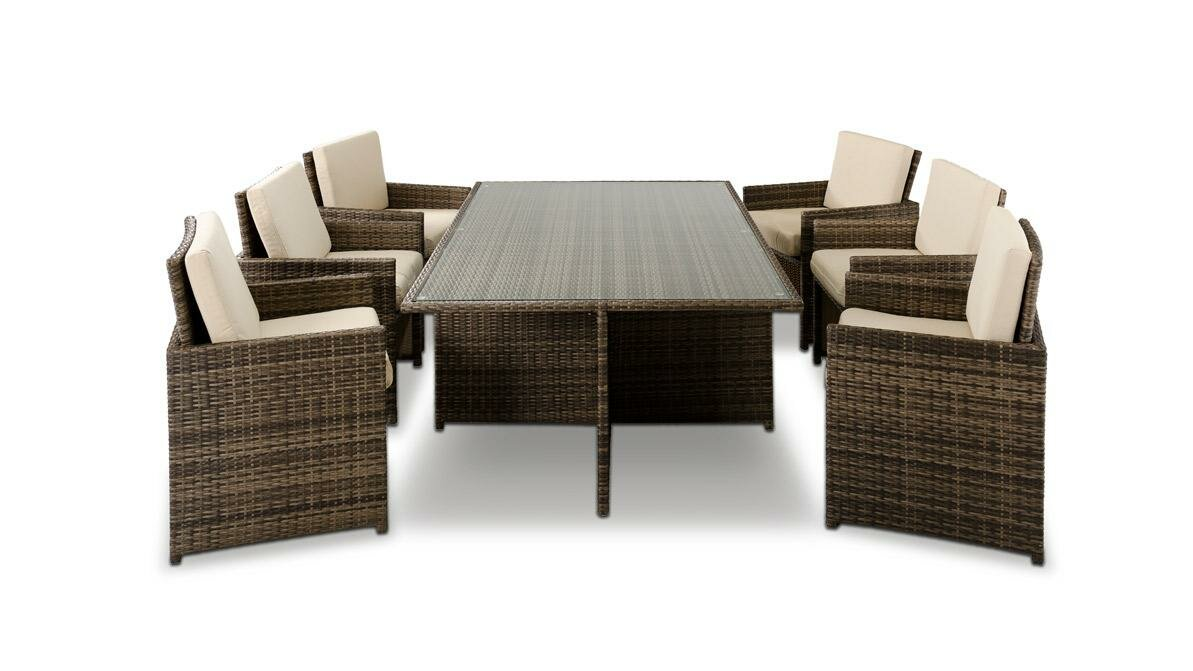 Awesome Renava Barcelona 13 Piece Dining Set