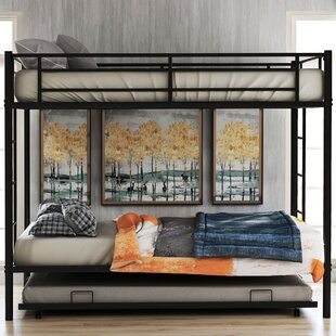 Lechlade Twin over Twin Bunk Bed with Trundle by Isabelle amp Max