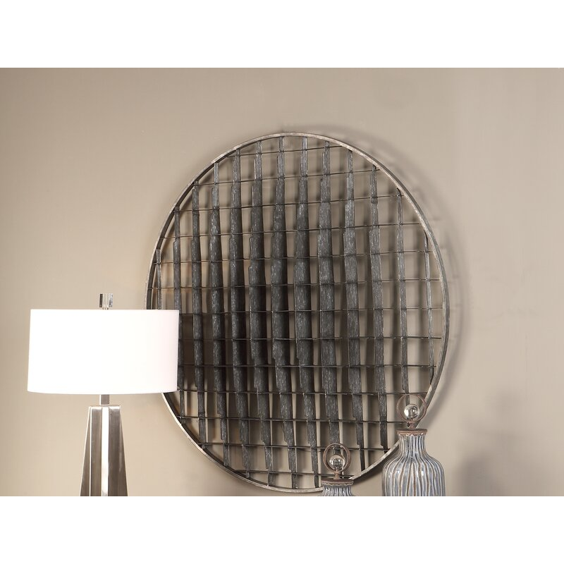 Demir Circular Metal Wall Decor