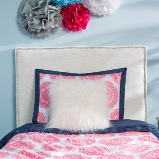 Woodinville Twin Upholstered Panel Headboard by House of Hampton