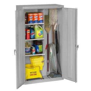 Mop And Broom Storage Cabinet | Wayfair