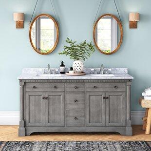 61 Inch Double Sink Vanity Wayfair