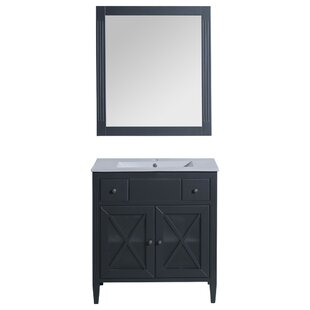 Postell 40 Single Bathroom Vanity with Mirror by Gracie Oaks