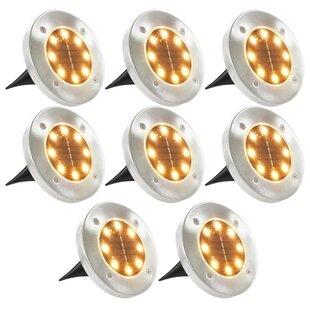 Hoy 8 Light LED Well Light (Set Of 8) By Brayden Studio