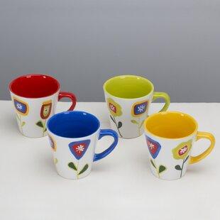 Jardin Matisse Assorted Mug (Set of 4)