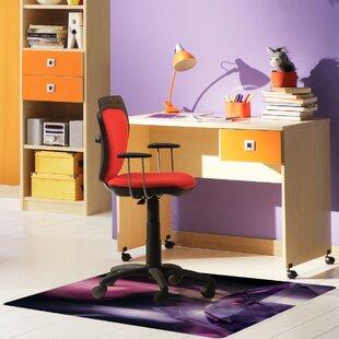 Colortex Hard Floor Straight Edge Chair Mat By Floortex