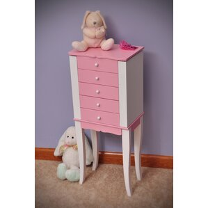 Jewelry Armoire For Girls Wayfair