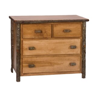 Hickory 4 Drawer Dresser