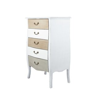 Adelynn 5 Drawer Chest By August Grove