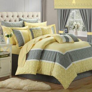 Aida Queen 24 Piece Comforter Set
