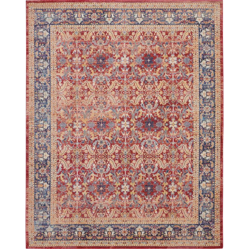 World Menagerie Holbeach Red Rug